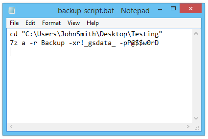 Automated Backup with Compression and Encryption – GoodSync