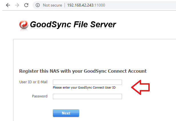 How do I activate GoodSync for NAS? – GoodSync