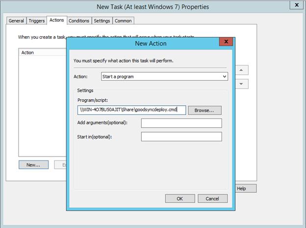 Mass Deployment through GPO (Windows) – GoodSync
