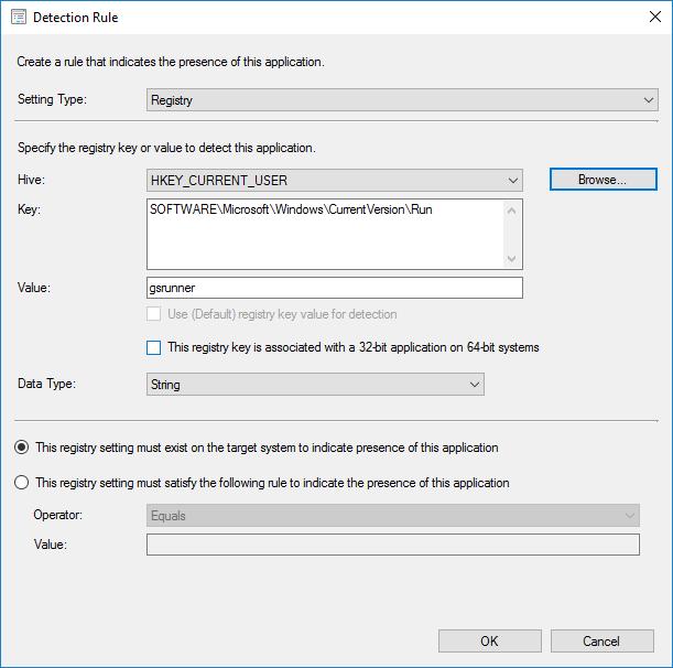 Sccm Deploy Registry Key