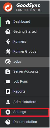 User Setup (Windows) – GoodSync